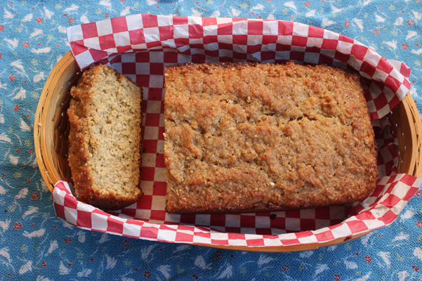maple oat quick bread