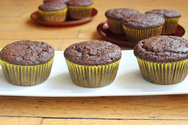 orange mocha muffins