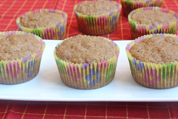 maple vanila muffins